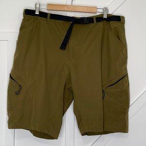 Novara men's cycling shorts padded liner belted